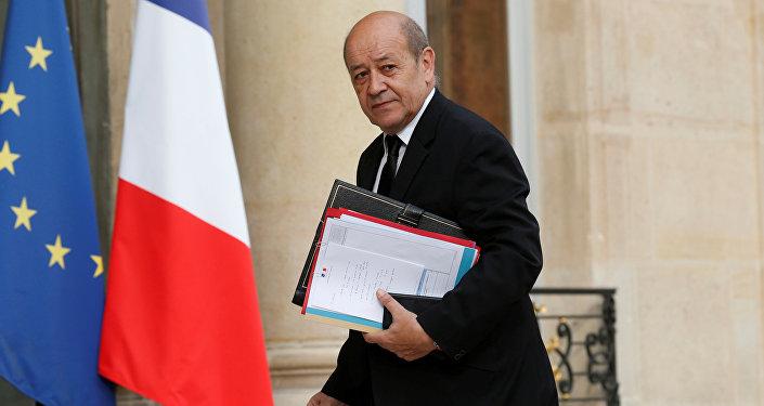 Fransa Savunma Bakanı Jean-Yves Le Drian