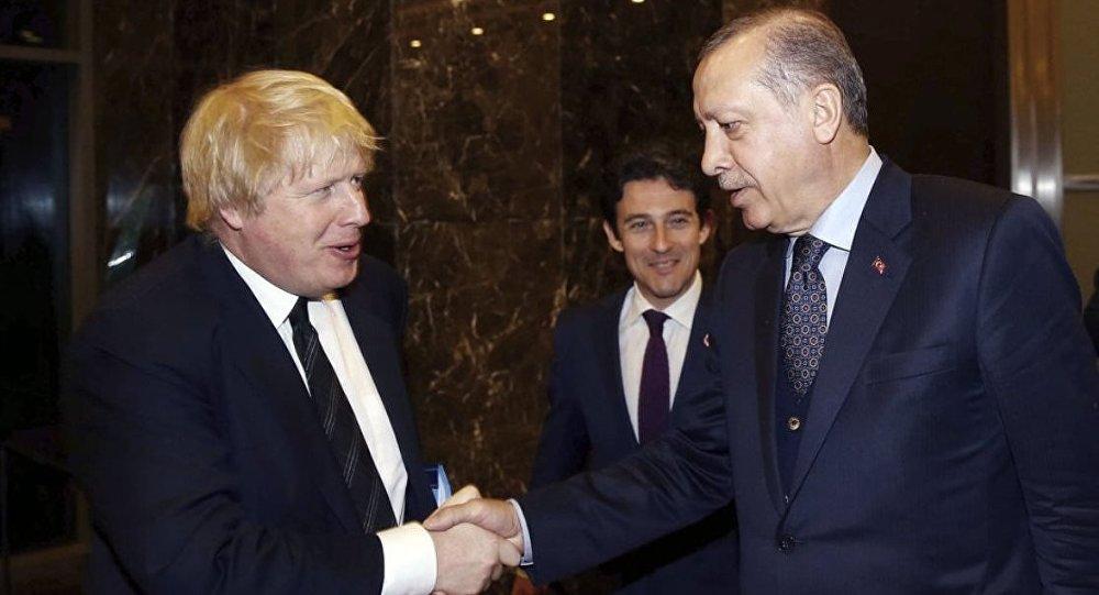 Recep Tayyip Erdoğan - Boris Johnson