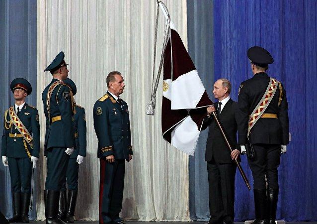 Vladimir Putin - Rosgvardiya Günü