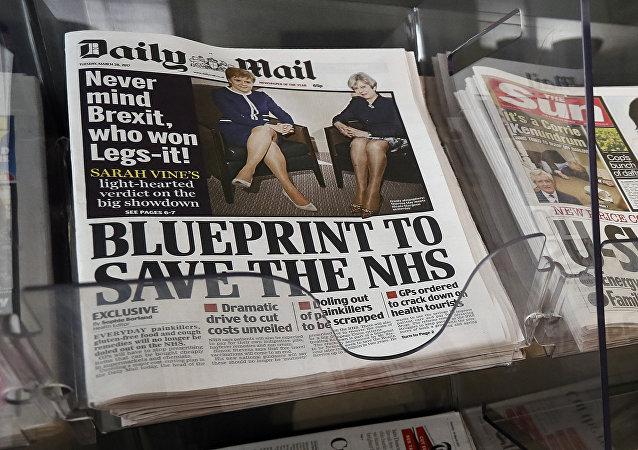 Daily Mail / Brexit manşeti