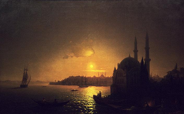 """Savelyev, Ayvazovski'nin Türkiye ile Rusya arasındaki bağ konusundaki öneminden de bahsetti. Savelyev, şunları söyledi: """"İvan Ayvazovski, hem Rusya hem Türkiye'de popüler bir ressam. Zira iki Osmanlı Sultanı (Abdülmecit ve Abdülaziz) ile dostluk kurdu. Dostlukları o kadar yakındı ki Sultan Abdüzaziz, Ayvazovski ile birlikte resim yaptı. Ayvazovski, herhangi bir Türk ressamdan daha fazla olarak İstanbul konulu yaklaşık 200 eser verdi. Bu iki tarafın ortak mirası. 2015 yılından beri İstanbul Deniz Müzesi'nde ressamın eserlerinin panorama olarak sergilendiği bir oda mevcut."""""""