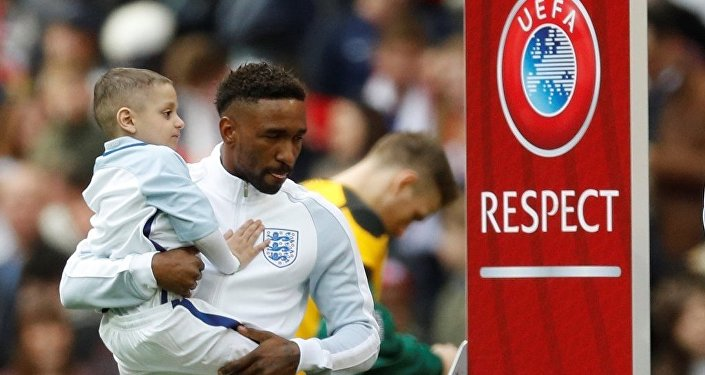 Jermain Defoe ve Bradley Lowery