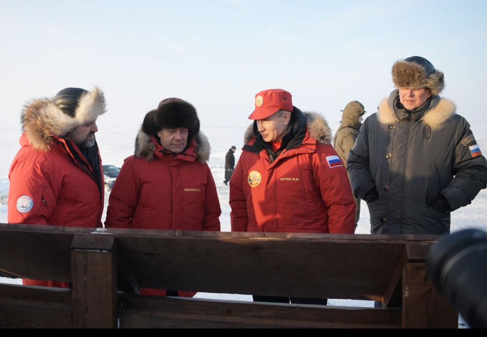 Putin'in Arktik ziyareti