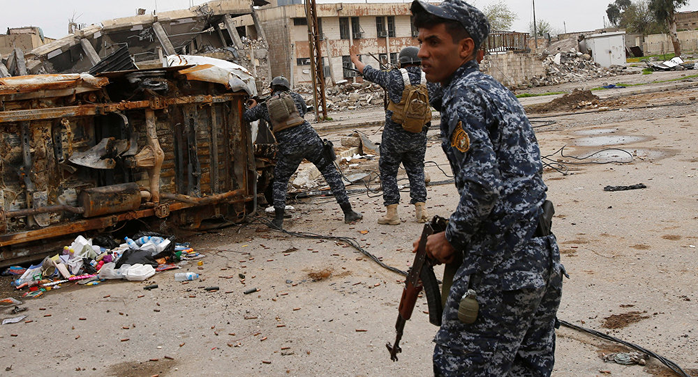 Musul'da Irak Federal Polisi
