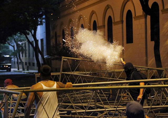Paraguay'da kongre binası ateşe verildi