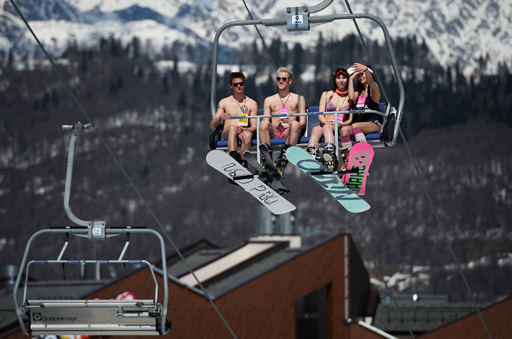 BoogelWoogel alpine carnival in Sochi