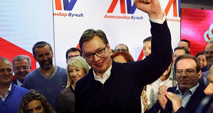 Sırbistan Cumhurbaşkanı Aleksandr Vuçiç