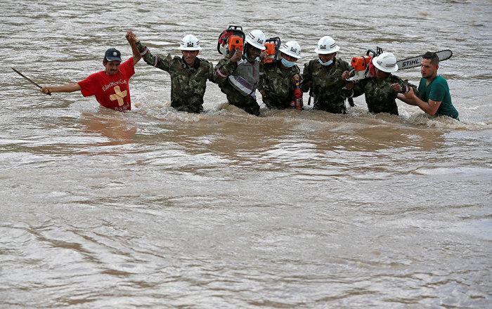 Kolombiya'da yağışlar 12 can aldı