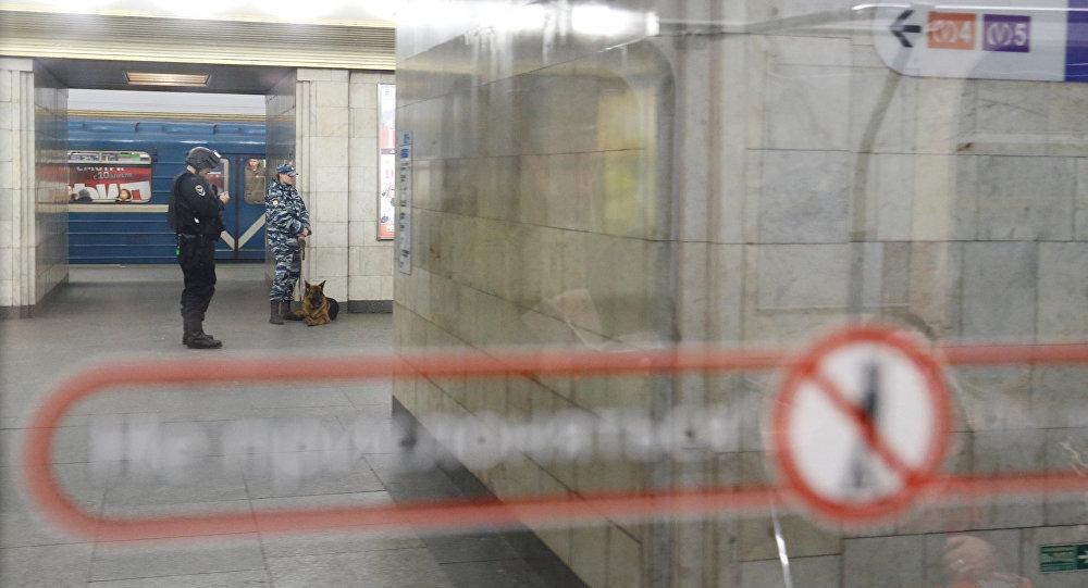 St. Petersburg metrosunda patlama / Sennaya Ploşad istasyonu