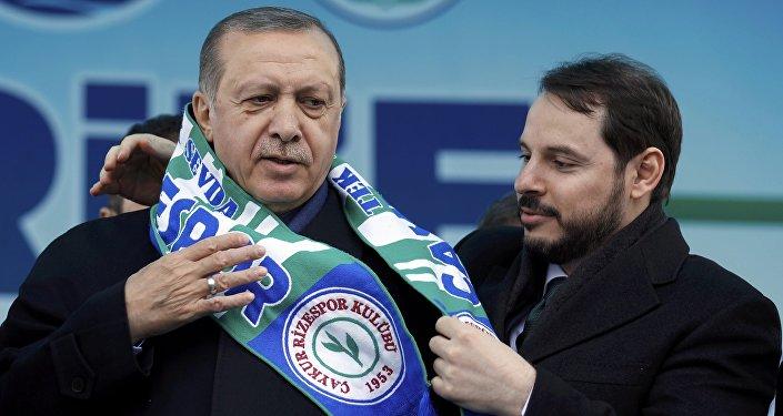Recep Tayyip Erdoğan - Berat Albayrak