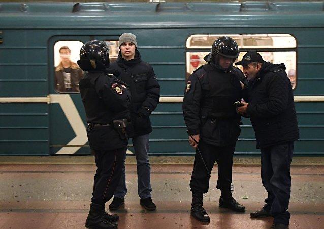 Moskova metrosunda güvenlik önlemleri