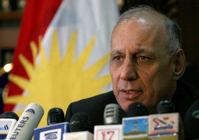 Kürdistan Yurtseverler Birliği (KYB) Politbüro üyesi Adnan Mufti