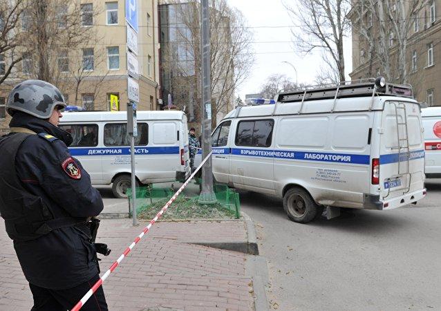 Rostov-na-Donu kentinde patlama