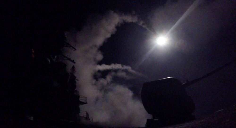 ABD, Suriye'deki bir hava üssünü füzelerle vurdu