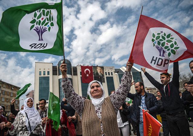 HDP bayrağı
