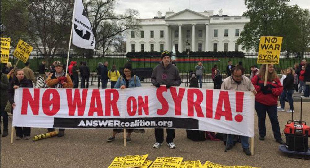 Suriye protestosu