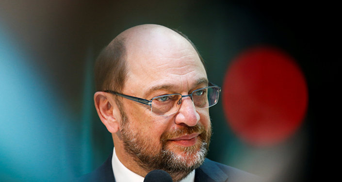 ALman SPD lideri Martin Schulz