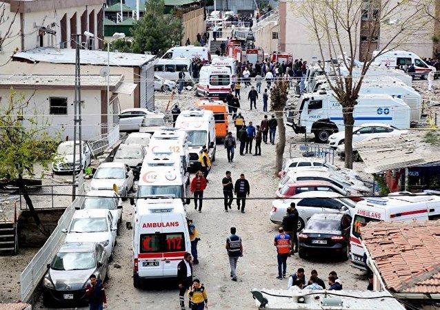 Diyarbakır Bağlar'da panzer tamiri sırasında patlama