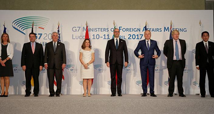 G7 ülkeleri dışişleri bakanları