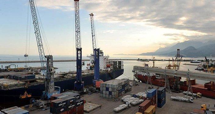 Dış ticaret - liman
