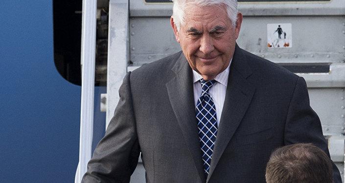 ABD Dışişleri Bakanı Tillerson ilk kez Moskova'da