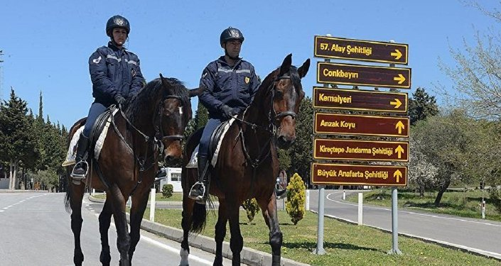 Gelibolu'da güvenlik önlemleri, Anzak törenleri nedeniyle üst seviyede