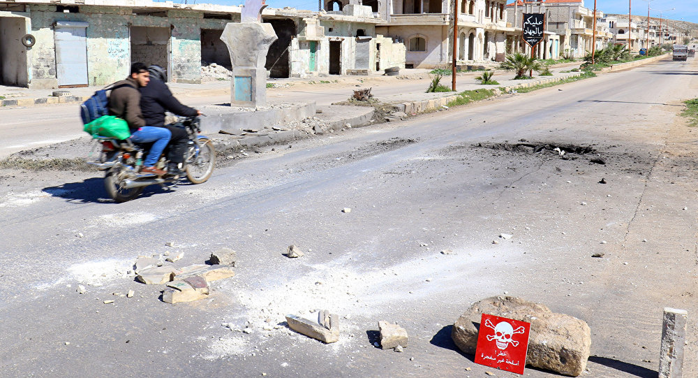İdlib'in Han Şeyhun kasabaında kimyasal saldırı iddiası