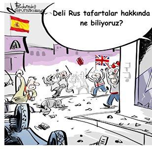 İngiliz taraftarlar Madrid'i savaş alanına çevirdi