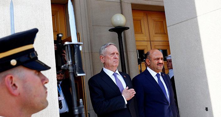 ABD Savunma Bakanı Jim Mattis ile Milli Savunma Bakanı Fikri Işık