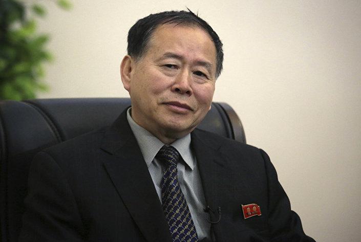 Kuzey Kore Dışişleri Bakanı Yardımcısı Han Song Ryol