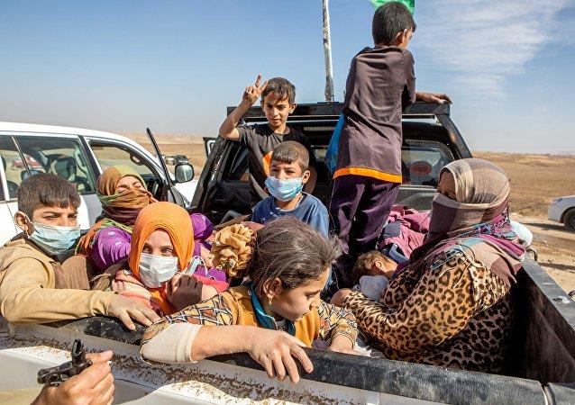 IŞİD'den kurtarılan Ezidiler