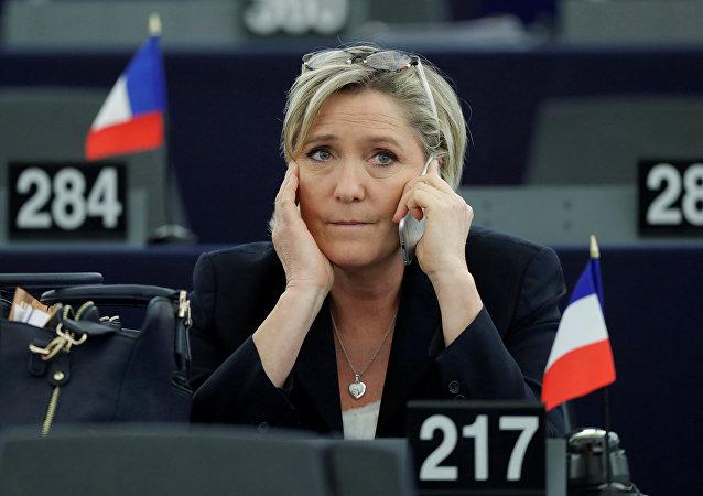 Fransız aşırı sağcı lider Marine Le Pen