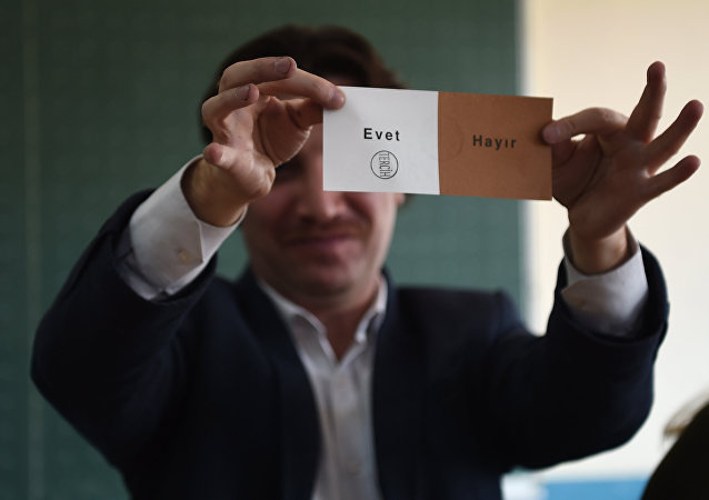 referandum- oy sayımı - evet