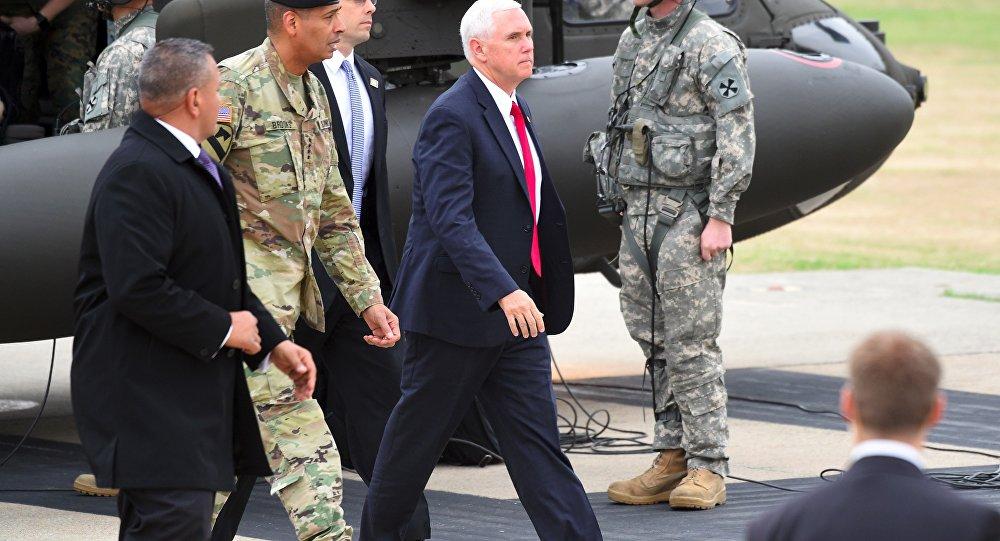 ABD Başkan Yardımcısı Pence: Kore'deki sınır birlikleri kontrol etti