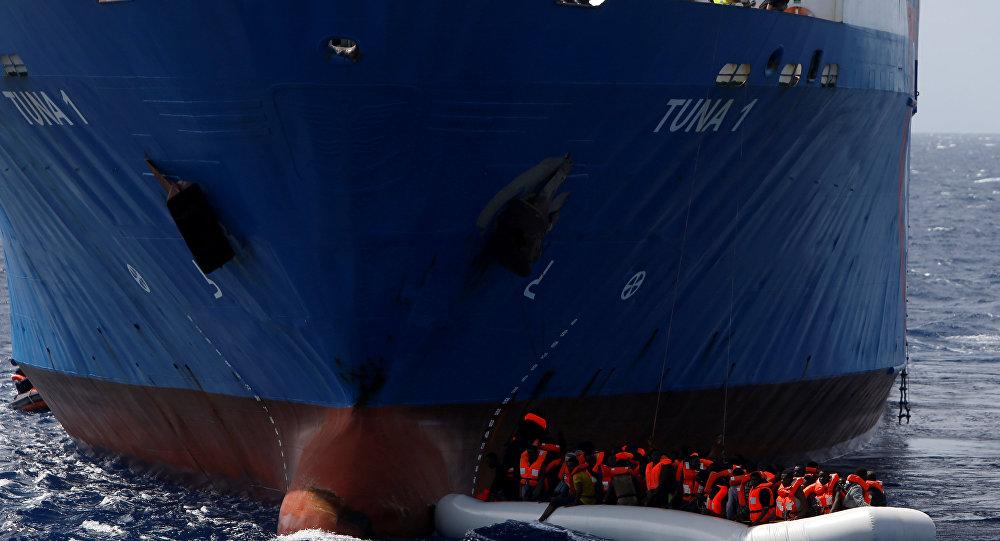 Libya- sığınmacı- İtalya