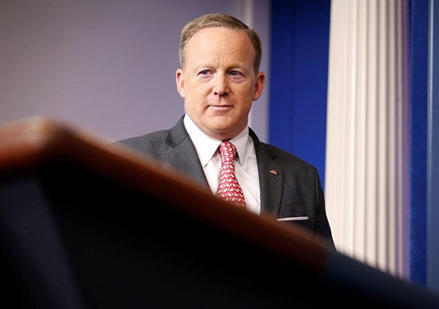 Beyaz Saray sözcüsü Sean Spicer