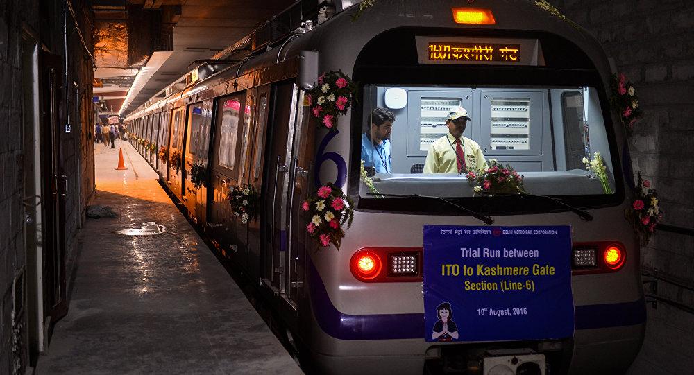 Yeni Delhi metrosu