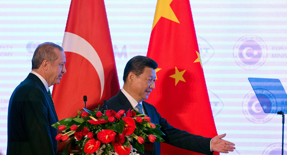 Recep Tayyip Erdoğan ve Şi Cinping