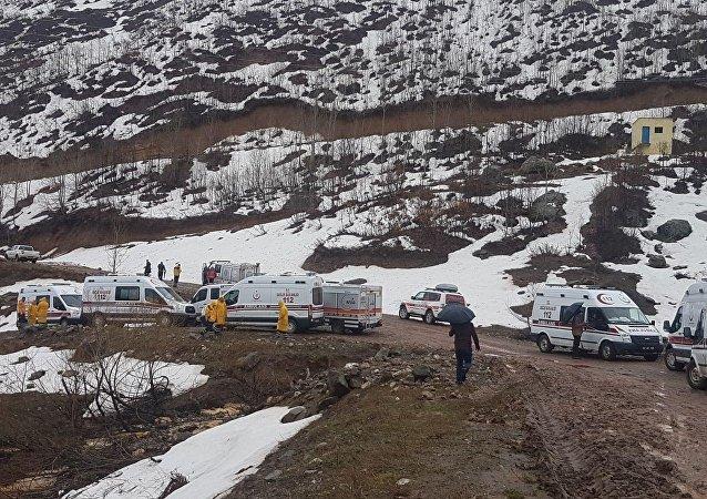 Tunceli'deki helikopter kazasında 12 kişi yaşamını yitirdi