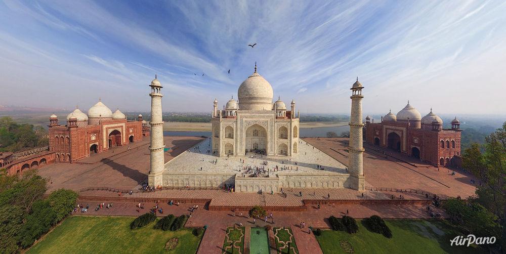 Tac Mahal, Hindistan.