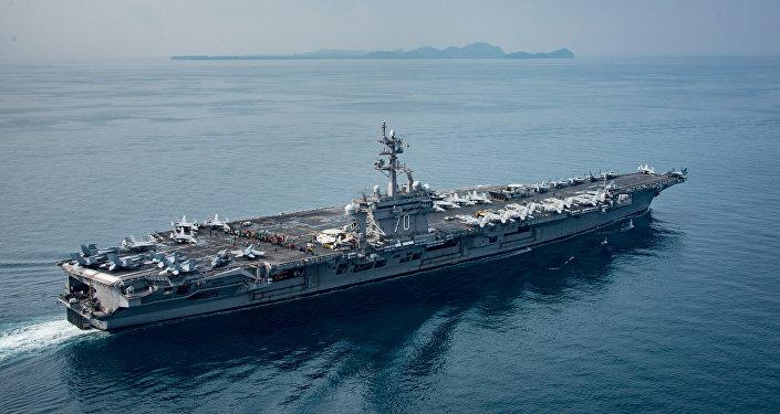 ABD uçak gemisi USS Carl Vinson