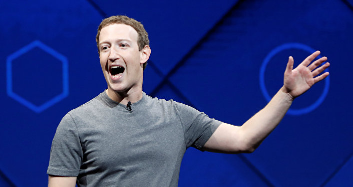 Facebook'un kurucusu Mark Zuckerberg