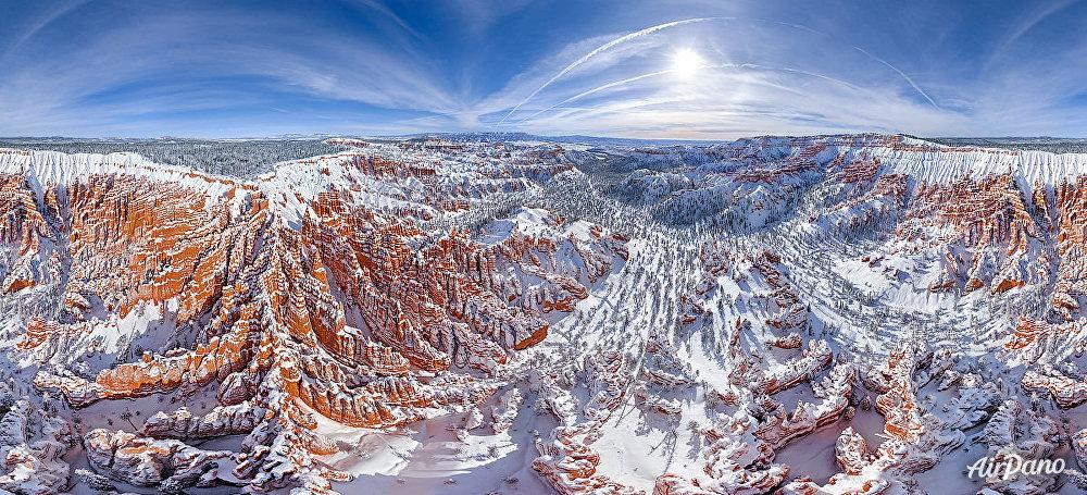 ABD'nin Utah Eyaleti'nin güneybatısında yer alan Bryce Canyon Ulusal Parkı.