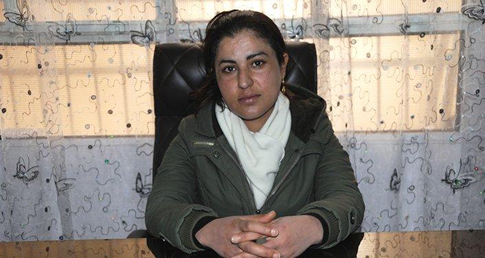 Rakka Sivil Meclisi Eş Başkanı Leyla Mustafa