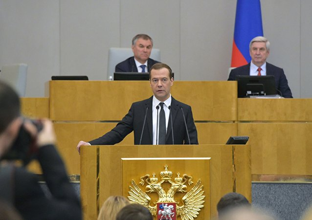 Dmitriy Medvedev / Duma