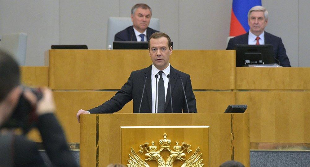 Medvedev: İdlib'deki kimyasal saldırı, ABD'nin çıkarına olan planlı bir provokasyondu