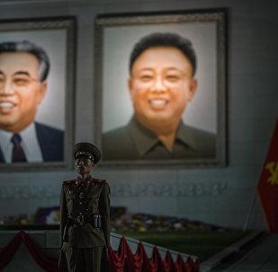 Kuzey Koreli bir asker