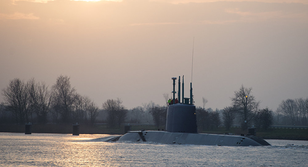 Mısır, sipariş ettiği 4 Alman denizaltısının ilkine kavuştu