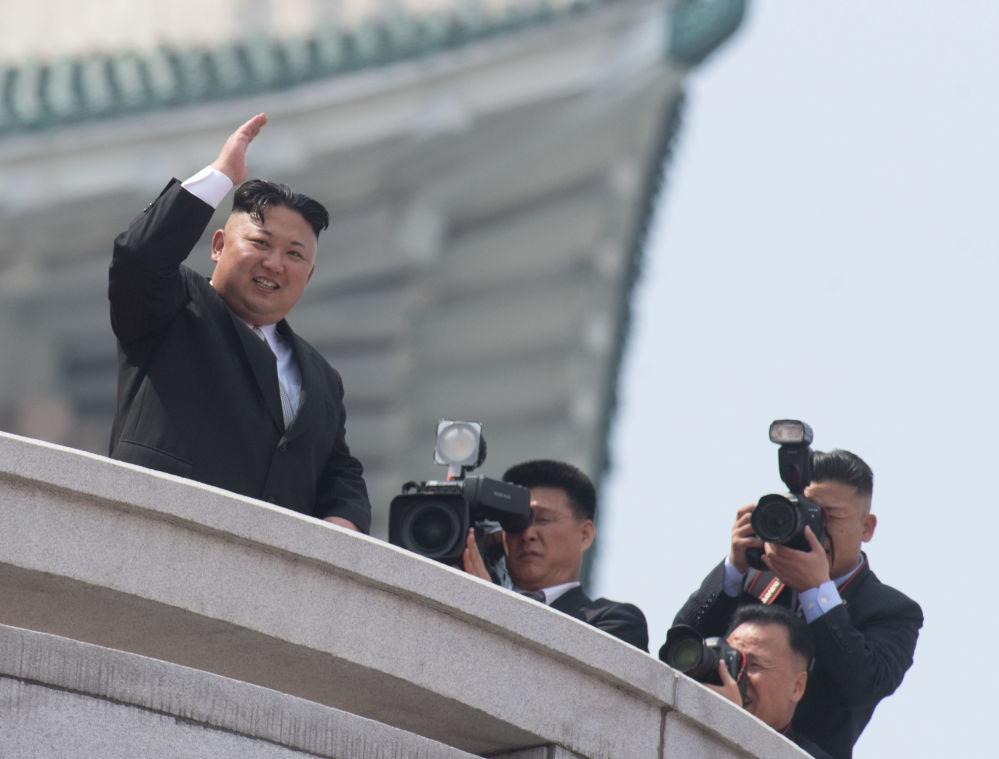 Kuzey Kore lideri Kim Jong-un.