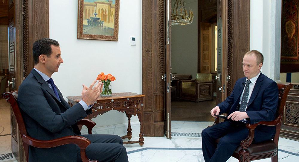 Suriye Devlet Başkanı Beşar Esad.
